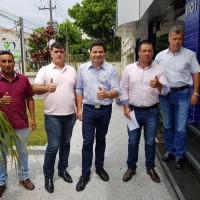 Com os nossos vereadores de Rosario do Ivai Jandre e Anisio