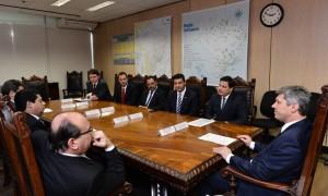 Ministro confirma ao Dep. Sandro Alex ampliação da pista do Aeroporto de Ponta Grossa