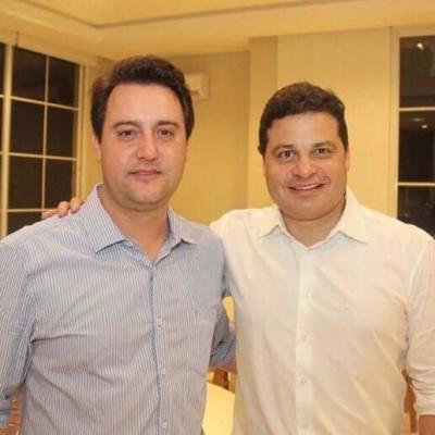 Com o governador do Paraná  Ratinho Jr.