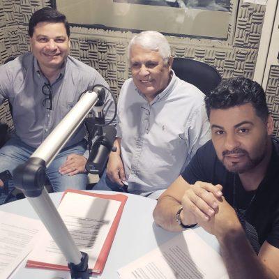 Domínio na audiência do radio: Nilson de Oliveira comanda na Mundi FM as informações na manhã.