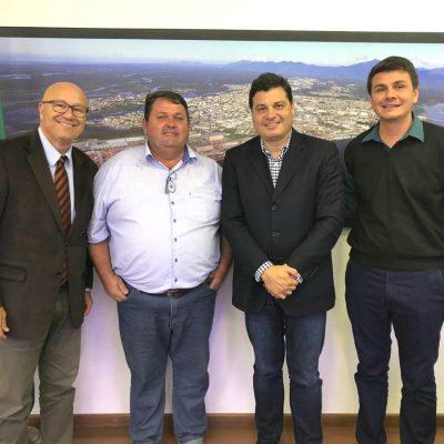 Com o Dep. Romaneli e nossos prefeitos de Santana do Itararé e Moreira Salles.